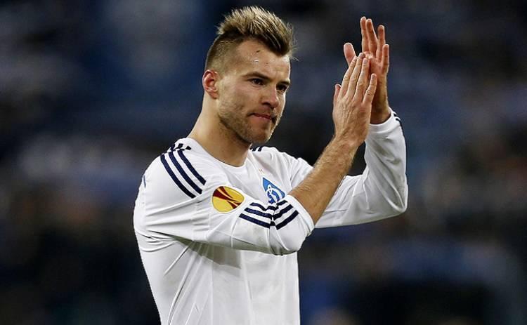 Ярмоленко признан лучшим футболистом Украины