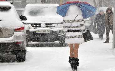 Сегодня нам обещают снег и гололедицу