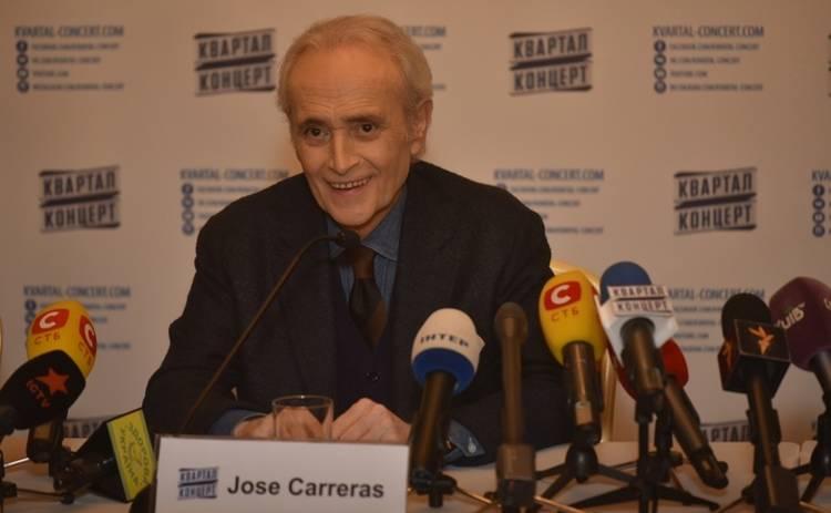 Хосе Каррерас мечтает встретиться с женой Порошенко