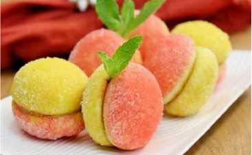 Пирожное «Персик» (рецепт)