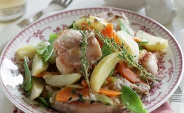 Кролик, запеченный с овощами (рецепт)