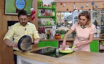 Кулинарная академия Алексея Суханова: смотреть 12 выпуск онлайн (эфир от 24.12.2016)