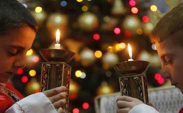 Католики и протестанты отмечают Рождество Христово