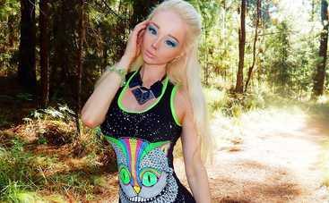 Одесская Барби оголила грудь (фото)