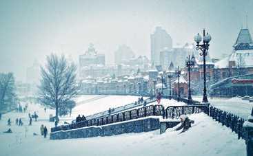 Сегодня зима в Украине кое-где «похулиганит»