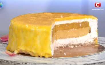 Йогуртовый торт от Самвела Адамяна и Натальи Левензон (рецепт)
