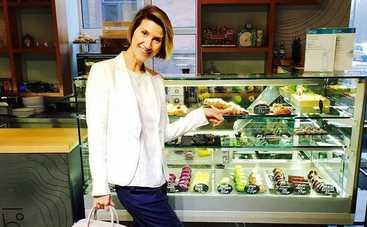 Анита Луценко знает что есть, чтобы не толстеть (видео)