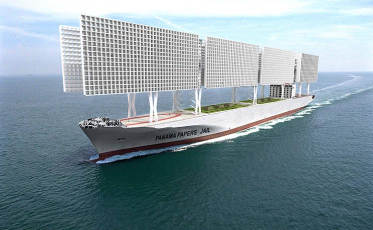 Архитекторы создадут необычный корабль-тюрьму