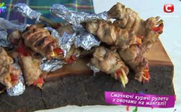 Куриные голени на мангале от Евгения Клопотенко (рецепт)