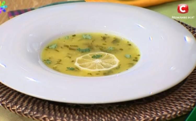 Лимонный суп для похудения от Аниты Луценко (рецепт)