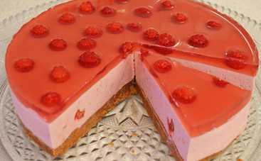 Творожный торт без выпечки от Татьяны Литвиновой (рецепт)