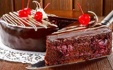 Пошаговый рецепт торта «Пьяная вишня» от Аллы Ковальчук