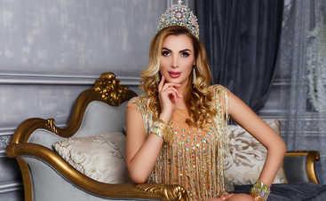 Анна Гомонова получила сразу две короны конкурса «Mrs Earth-2017» (фото)