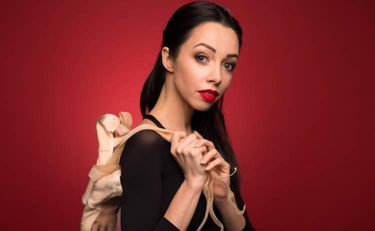 Балерина Екатерина Кухар передала #танціззіркамиchallenge Александру Скичко
