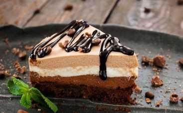 Шоколадный чизкейк без выпекания (рецепт)