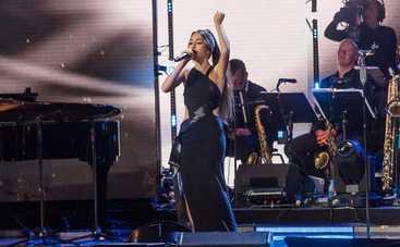 Певица DiAna стала открытием фестиваля Лаймы Вайкуле