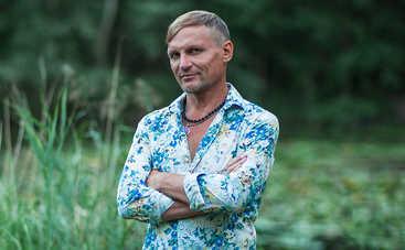 Олег Скрипка похвастался голым торсом (фото)