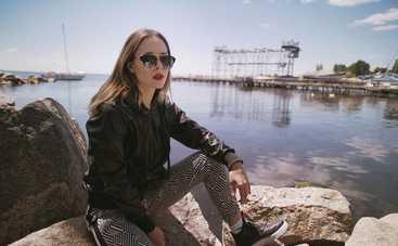 Юлия Санина отвезла подросшего сына на отдых