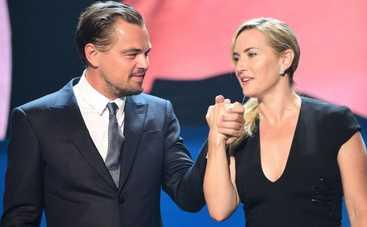 Леонардо Ди Каприо и Кейт Уинслет общаются цитатами из «Титаника»