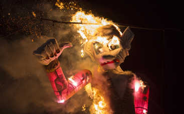 На популярном фестивале в Америке заживо сожгли человека