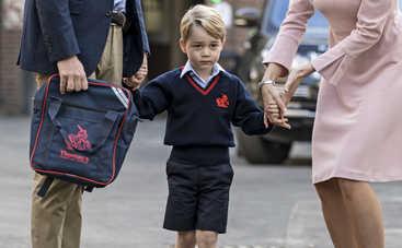 Принца Джорджа пытались похитить из школы