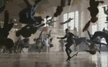 Киевский вокзал стал местом съемок рекламы Apple