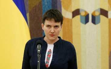 Надежда Савченко взорвала сеть танцами под Сердючку