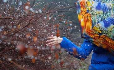 Новая неделя в Украине начнется с мокрого снега