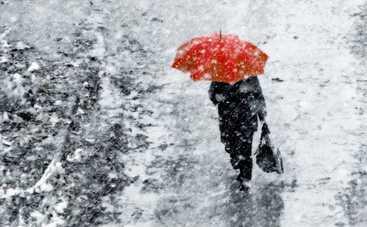 Сегодня всю Украину вновь припорошит мокрым снегом