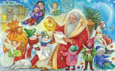 В Киеве собирают новогодние подарки детям из прифронтовой зоны