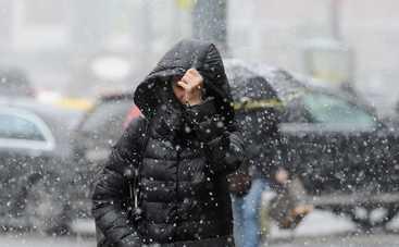 В четверг Украину будет засыпать мокрым снегом