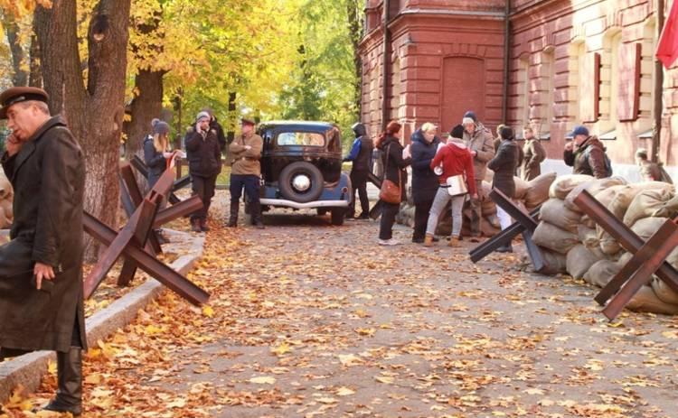 По законам военного времени: Харьков превратили в киноплощадку