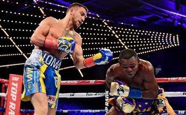Украинский боксер защитил чемпионский титул по версии WBO