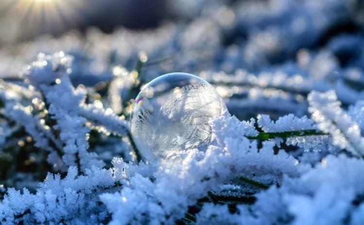 В субботу в Украине ожидается небольшое потепление и снег