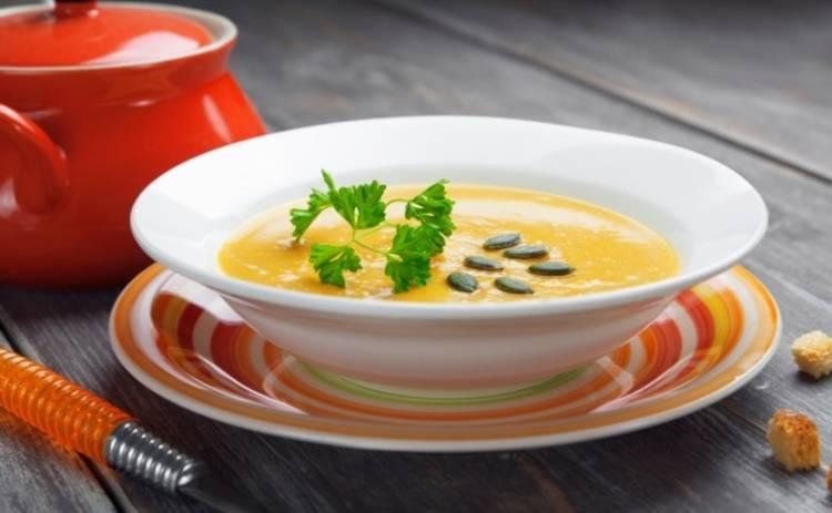Антипростудный суп из тыквы (рецепт)