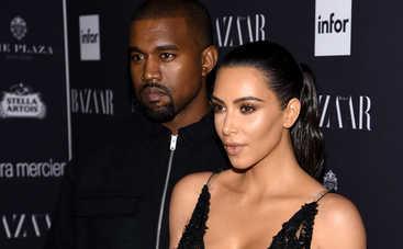 Ким Кардашьян и Канье Уэст стали родителями в третий раз