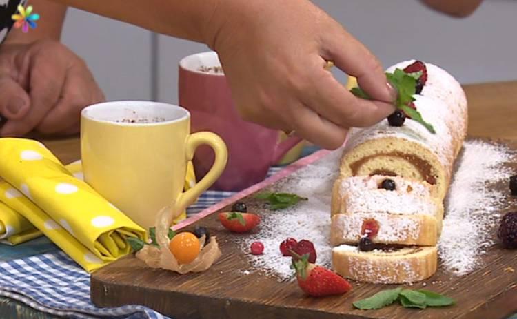 Быстрый бисквит за 10 минут (рецепт)