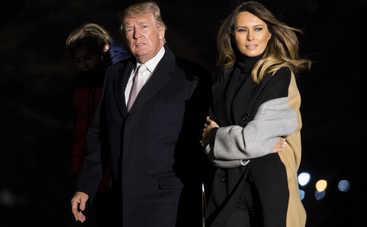 Мелания Трамп отказалась от путешествий с мужем