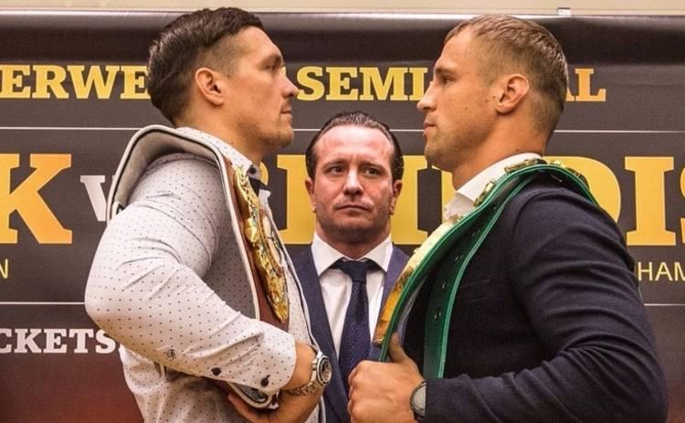 Александр Усик вышел в финал Всемирной боксерской суперсерии