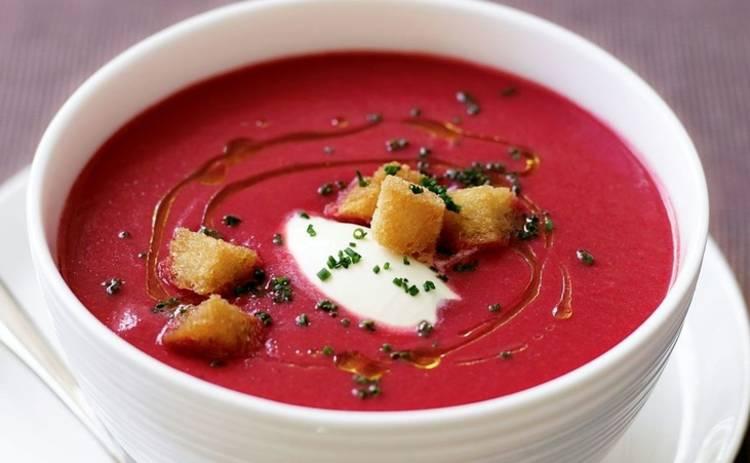 Крем-суп из свеклы от Винченцо Барба (рецепт)
