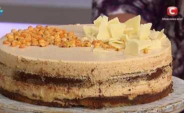 Французский торт с облепихой (рецепт)