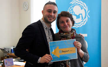 Лидер группы «Антитела» стал амбассадором ЮНИСЕФ