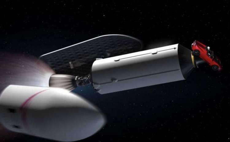 За полетом машины Илона Маска к Марсу можно следить в реальном времени
