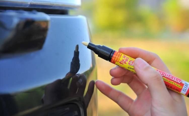 Как убрать царапины с поверхности автомобиля