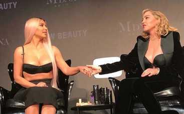 Ким Кардашьян померялась достоинством с Мадонной