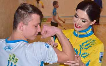 Телеведущая Юлия Гершун подарила детям олимпийский мастер-класс