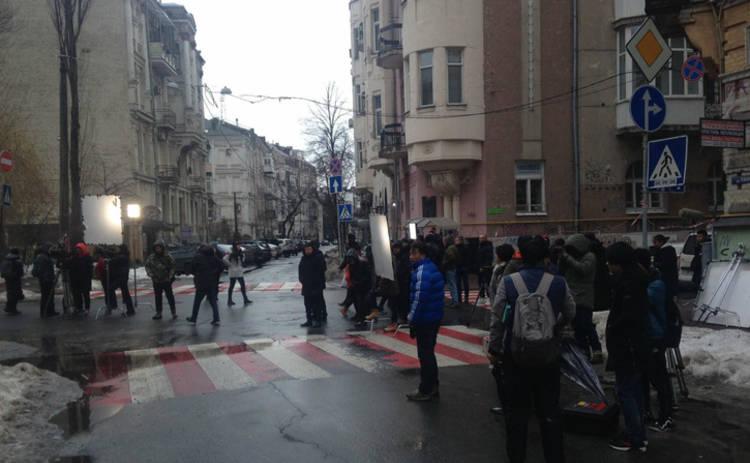 В Киеве снимают китайский сериал «Золотой глаз»
