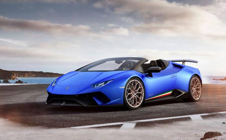 В Женеве презентовали новую модель Lamborghini