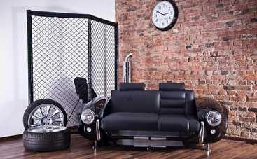 5 интересных идей использования автозапчастей в интерьере