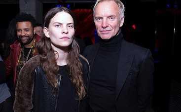 Дочь певца Стинга встречается с французской актрисой